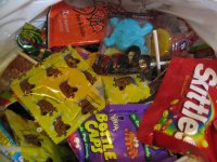 Halloween candy - small