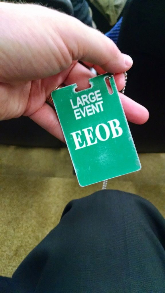 EEOB visitor badge