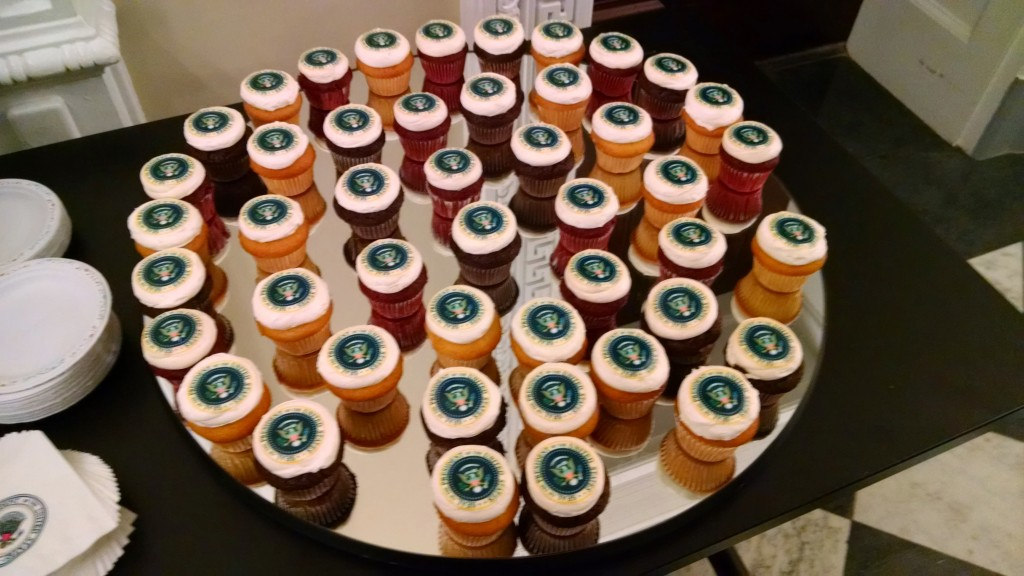 Presidential cupcakes