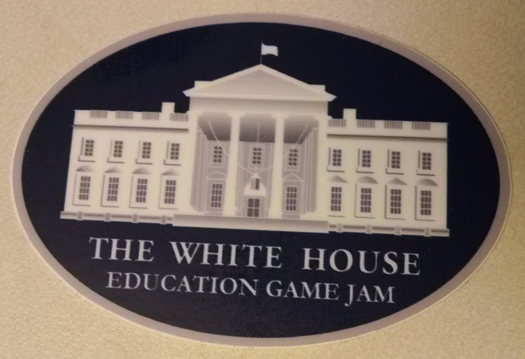 The White House Education Game Jam sticker